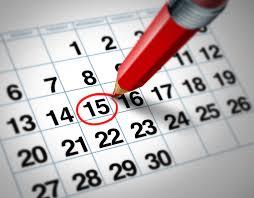 Calendario fiscal marzo 2018