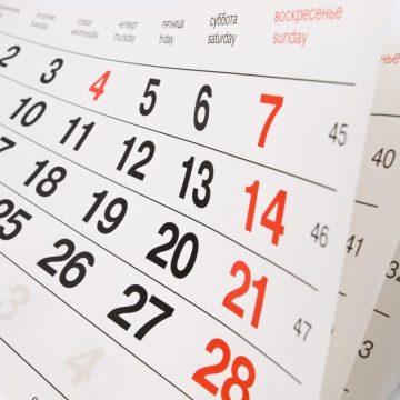 Calendario fiscal abril 2018